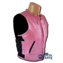 Ladies Pink Swat Vest Only At MCVESTS.com