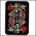 Suicide King Patch 3.5W X 4H