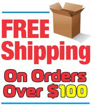 Free Shipping For All Orders Over 100 Dollars